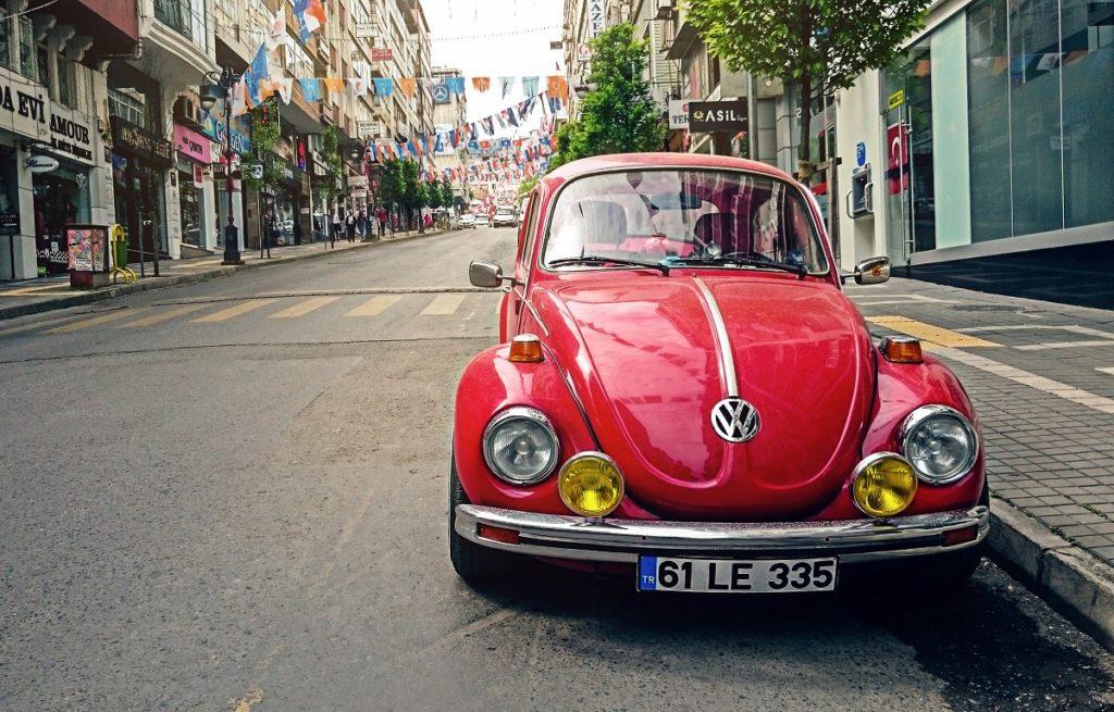 volkswagen car the beetle
