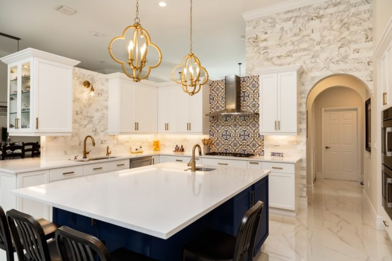 elegant and luxurious kitchen
